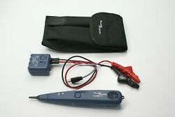 Fluke Networks 26200900 Pro3000 Tone Generator With Abn Clips And Rj11 Plug