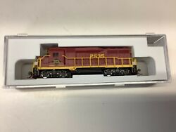 """Atlas 40 003 762 N Scale """"reading And Northern"""" Gp-30 Locomotive Rd. 2535"""