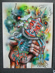Art Of Skinner Dominion Upon A Dead Dreamer Original Painting