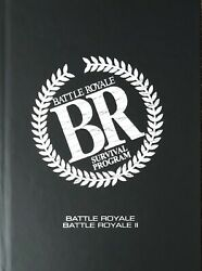 Battle Royale I + Ii Limited Uncut Special Edition 3 Disc Blu Ray Mediabook New