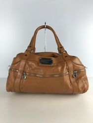 Used Marc By Marc Jacobs Handbags /leather/brown/plain/m3122203 Bag