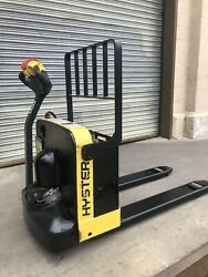 2014 Hyster W40z Electric Pallet Jack. New May 2021 Batteries. Onboard Charger.