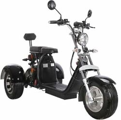 Electric 3 Wheel Trike Scooter Golf Cart Harley Chopper Mobility Motorcycle 40ah