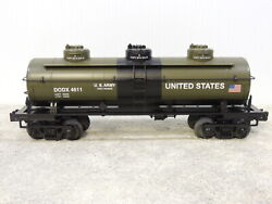 Mth 30-73352 Us Army 3-dome Tank Car