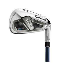2021 Taylormade Mens Sim2 Max Os Forged Iron Set Steel Graphite Shaft Right Hand