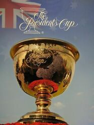 Australia Post The Presidents Cup Stamp Pack