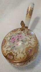 Vintage Porcelain Silent Butler Crumb Catcher Made In Japan 1940's Collectible