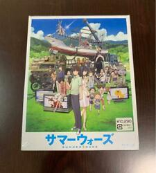 Summer Wars Anime Limited Edition Blu-ray With Artbook Bookmarks Cards Set