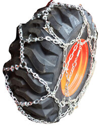 Snow Chains 15-19.5 Reinforced European Style Net Tire Chains