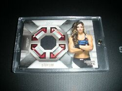 Ufc Topps Knockout Miesha Tate Fight Mat Relic 173/188 And Diamond Refractor