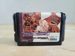 Shining And The Darkness Mega Drive Japanese Import Japan Us Seller Cart Only