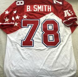 Bruce Smith Authentic Mitchell And Ness 1995 Afc Pro Bowl Stitched Jersey Bills