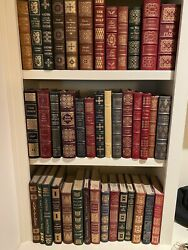 75 Great Condition Volumes Easton Press Collector Books