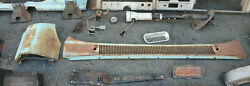 1960 1966 Chevy Gmc C10 Truck Parts Misc Lot Rare Bumpers Column 66 60 65 64 63