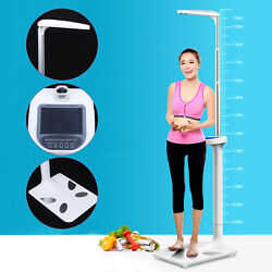 Multifunction Lcd Physician Medical Body Weight Scale W/ Height Measurement Us