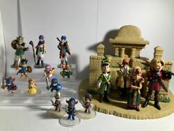 Dragon Quest Character Figure Collection 1-9 Hero Figure Set Rare Used