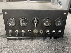 Jaguar E-type, Xke Series 1 Dashboard Console, Instrument Cluster. Very Nice
