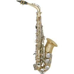 Selmer As600 Aristocrat Student Alto Sax Lacquer With Nickel Plated Keys