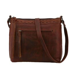 Concealed Carry Faith Leather Crossbody by Lady Conceal $149.95