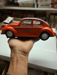 Vintage Taiyo Combination Tin Vw Beetle Toy Battery Operated Untested Cc1