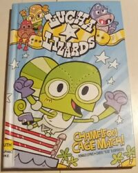 Lucha Lizards Chameleon Cage Match Lemke Eliopoulos Hardcover Graphic Novel