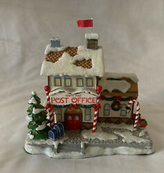 Hawthorne Village North Pole Post Office Rudolph Christmas Town