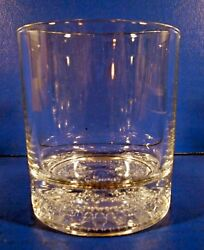 8 Crown Royal Bar Glasses Old-fashioned Rocks Heavy Embossed Base