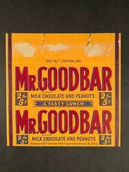 Hersheyandrsquos Mr. Goodbar And Krackel 1930andrsquos - 1970andrsquos Chocolate Bar Wrappers 6
