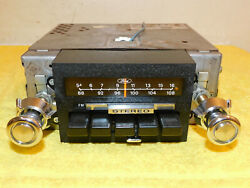 1973-1979 Ford Mercury Lincoln Orig Am-fm Radio Stereo With Knobs