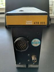 Bendix King Ktr-905 Vhf Comm Sold As Is As Removed. Parts Only.