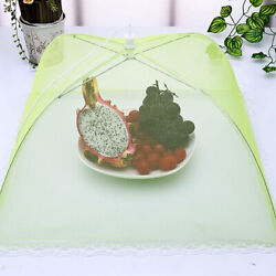 1 2 3 4 X Set Of Protective Bbq Cake Food Covers Insect Folding Mesh Umbrella