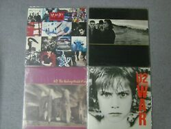 Lot Of 4 Sealed U2 Albums Achtung Baby Joshua Tree Unforgettable Fire War