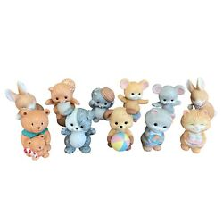 X11 1992 Vintage Avon Collection Animal Figurines - Bunnies, Mice, Bears And More