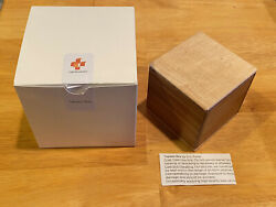 Topless Box Eric Fuller Cubic Dissection Wood Puzzle