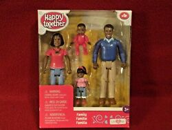 Happy Together African American Family Toys R Us Dollhouse Figures Unopened