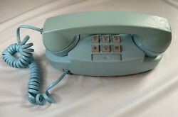 Vintage Bell System Baby Blue The Princess Phone Western Electric Robins Egg Blu