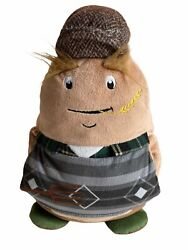 Farmer Worker Spuddy Couch Potato Cushion Remote Holder Novelty Pillow