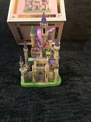 New Disney Store Castle Collection Aurora Sleeping Beauty Ornament 6/10 In Hand