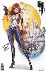 I Make Boys Cry 1 Tyndall Smuggler Cosplay Exclusive Variant Nm Absolute Comics
