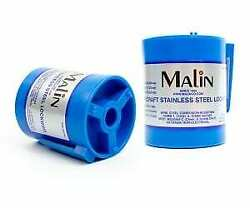 Malin Aviation Stainless Steel Aircraft Lock/safety Wire 1 Lb .025