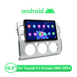 Joying 10.5 Android 10 1 Din Navi Gps Bluetooth Android Auto 4g+64g For Toyota