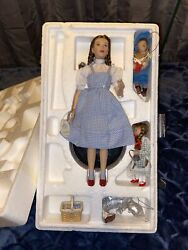 The Wizard Of Oz Porcelain Dorothy Doll Collection, 3 Ornaments 🤩 Beautiful