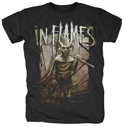 In Flames Shattered Wall Shirt S-xxl T-shirt Official Death Metal Band Tshirt