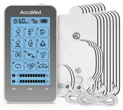 Tens Unit Muscle Stimulator And Electronic Pulse Massager With 2 Channels 12 Modes