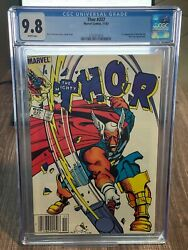 Thor 337 Cgc 9.8 White Pages Newsstand 1st Appearance Beta Ray Bill 1983