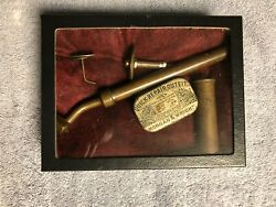 Antique And Very Rare Morgan And Wright Tire Repair Display Kit... Early 1890's