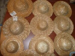 Doll Hair Straw Hats Doll Clothes Patterns