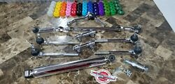 Chrome Steering Linkage Kit 77-96 Cadillac Fleetwood Deville Brougham