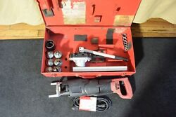 T-drill T60 Copper Pipe T Forming Tool And Notcher 35 65 50 110v