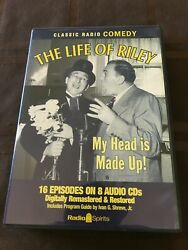 The Life Of Riley My Head Is Made Up 8 Audio Cd's 16 Episodes Of Comedy